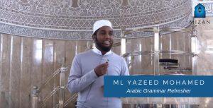Arabic Grammar Refresher - Ml YAZEED MOHAMED
